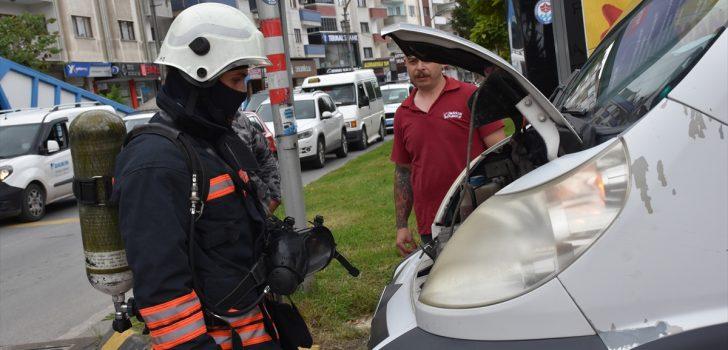 Trabzon Büyükşehir Belediyesi itfaiyesi olaylara 255 personelle müdahale ediyor