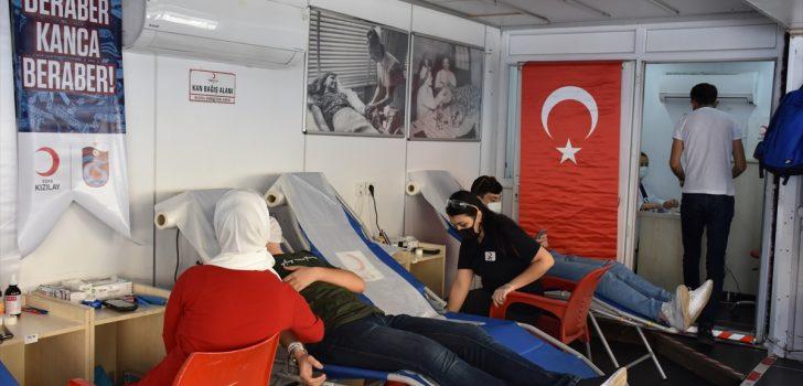 Trabzonspor ile Türk Kızılaydan kan bağışı kampanyası