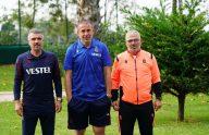 Abdullah Avcı, Rizespor'daki takım arkadaşlarıyla Trabzonspor'da buluştu