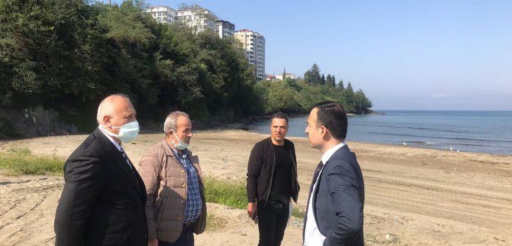 Araklı'da Kano Su Sporu Çalışmaları Başladı