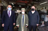 TESOB Başkanı Kara'dan Emniyet Müdürü Aydoğan ile yılın ahisi Hacıoğlu'na ziyaret