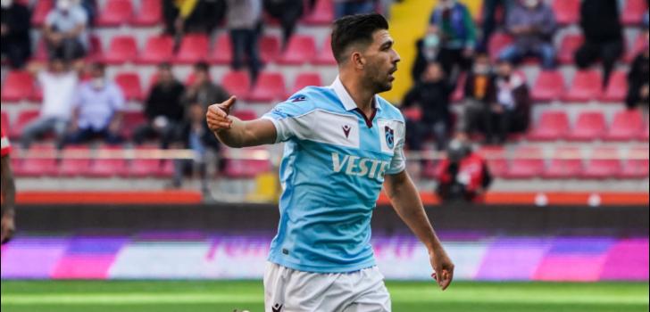 """Trabzonspor'un orta alan oyuncusu Bakasetas: """"Önemli başarılar hedefliyoruz"""""""