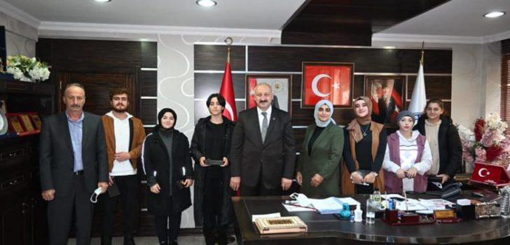 Başkan Çebi Arakale Spor Kulübü Sporcularını Ağırladı