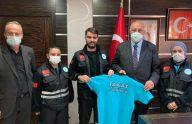 TAKAT Yönetim Kurulundan Başkan Çebi'ye Ziyaret